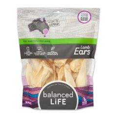 Balanced Life Lamb Ears Premium Dog Treats - 16 pieces