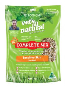 Vets All Natural Complete Mix 1kg Sensitive Skin