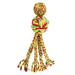 KONG Wubba™ Weaves w/ Rope Dog Toy