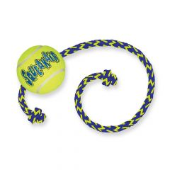 KONG SqueakAir® Balls with Rope - Medium