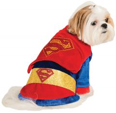 Superman Pet Dog Superhero Costume